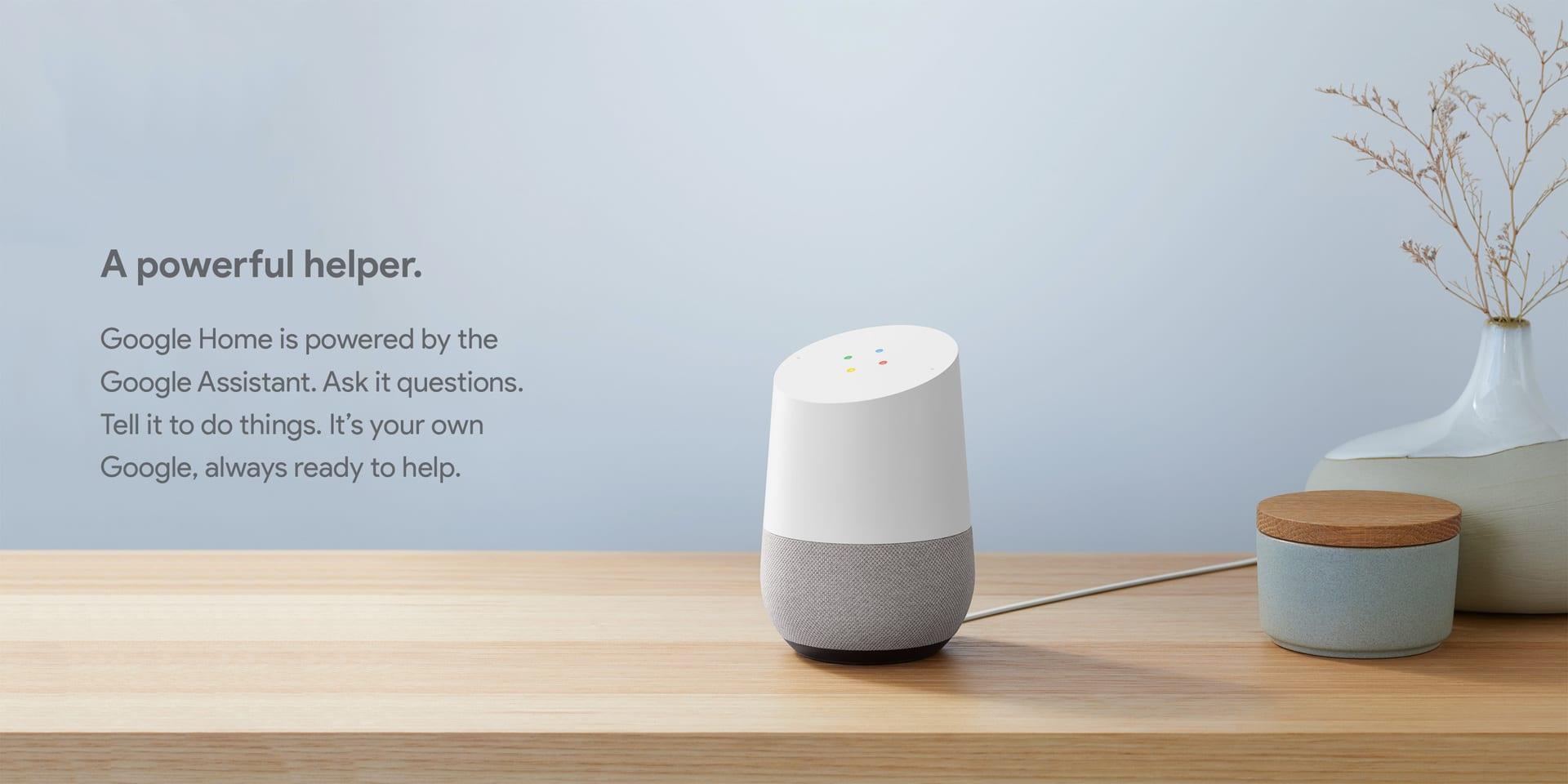 """Những tính năng """"đáng kinh ngạc"""" của Google Home"""