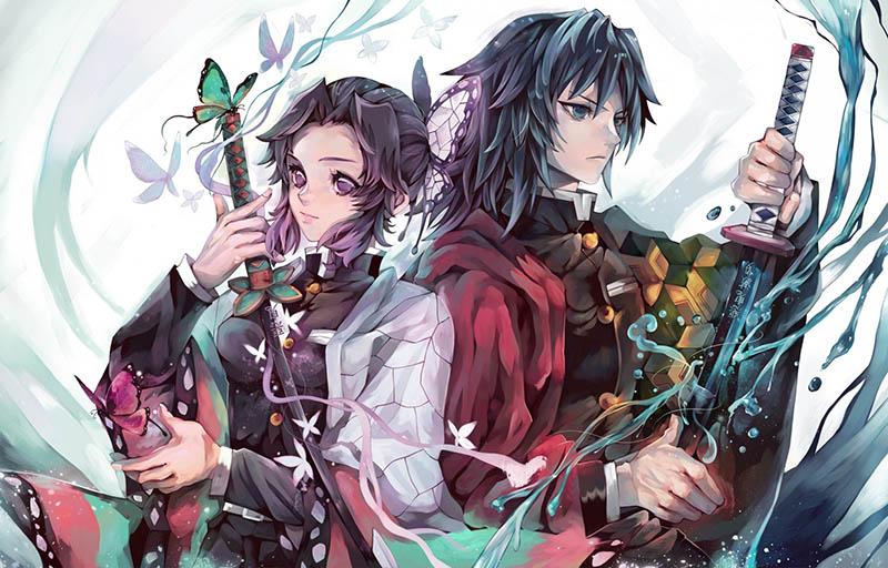 Giyuu và Shinobu