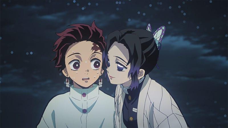 Kochou Shinobu vs Tanjirou