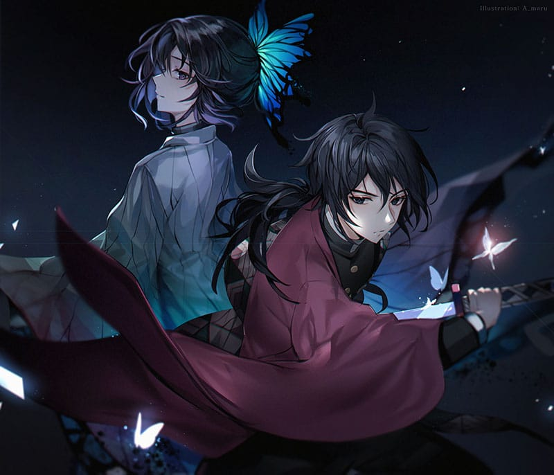 Shinobu và Giyuu