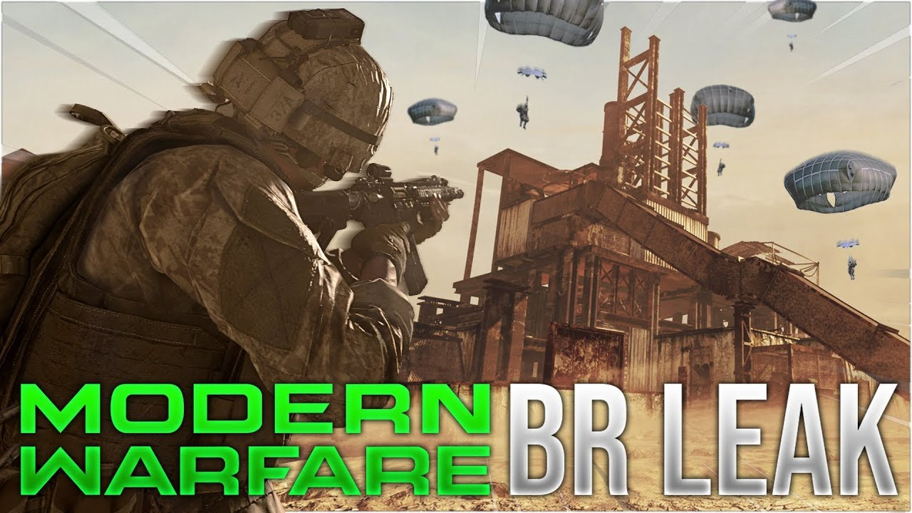 Call of Duty: Modern Warfare rò rỉ bản đồ Battle Royale mới với 200 người chơi