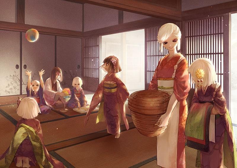 Tìm hiểu về gia tộc Ubuyashiki trong Kimetsu no Yaiba