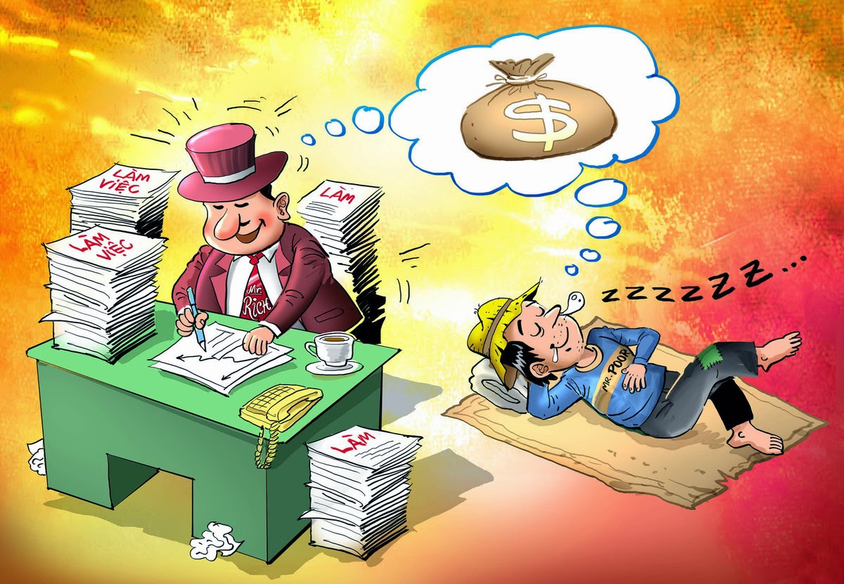 Giải mã giàu nghèo