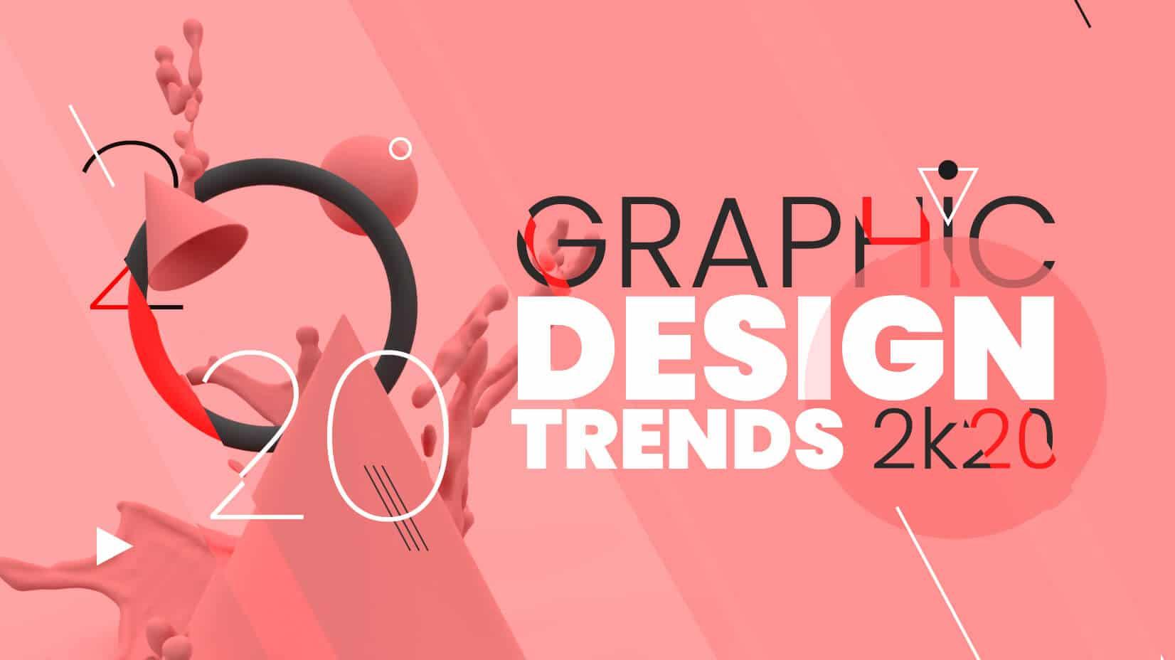 Xu hướng thiết kế đồ họa 2020: Phá vỡ mọi quy tắc