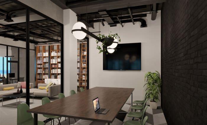 Kết hợp nhà với văn phòng