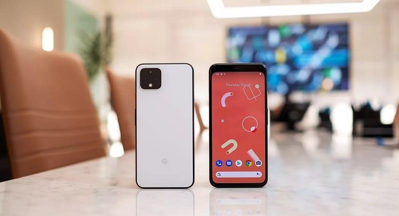 Google Pixel 4 XL có thiết kế đơn giản