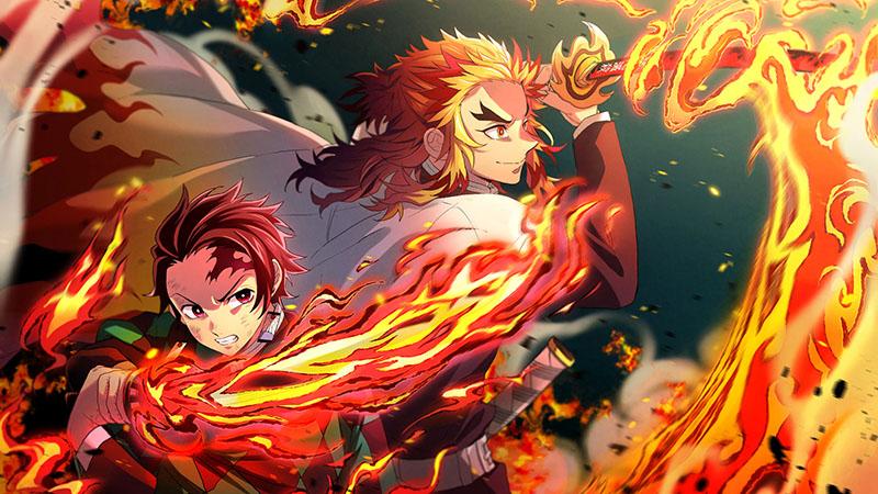 Rengoku Kyoujurou và kamado tanjirou