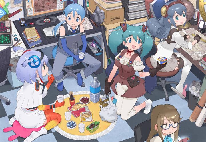 Game Shachou, Battle no Jikan Desu! sẽ có TV anime chuyển thể vào năm 2020