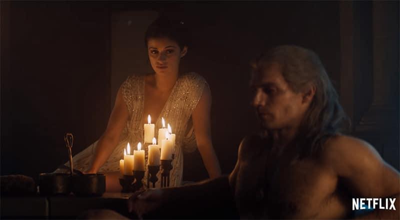 Cảnh nóng trong The Witcher