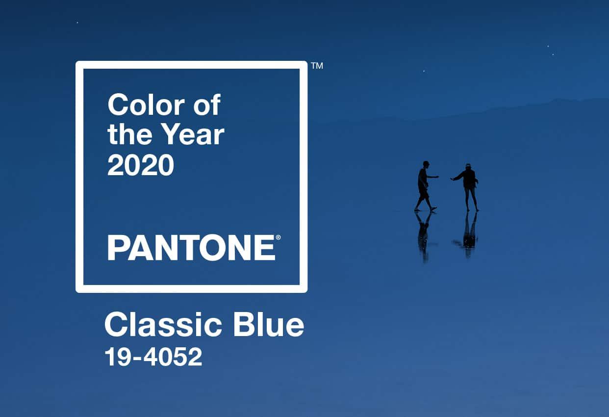 Classic Blue: Màu sắc chủ đạo cho năm 2020