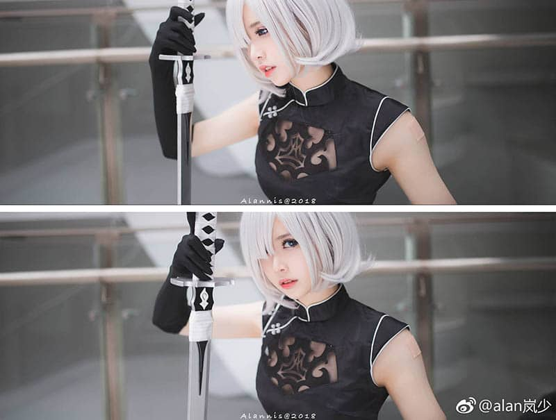cosplay 2b