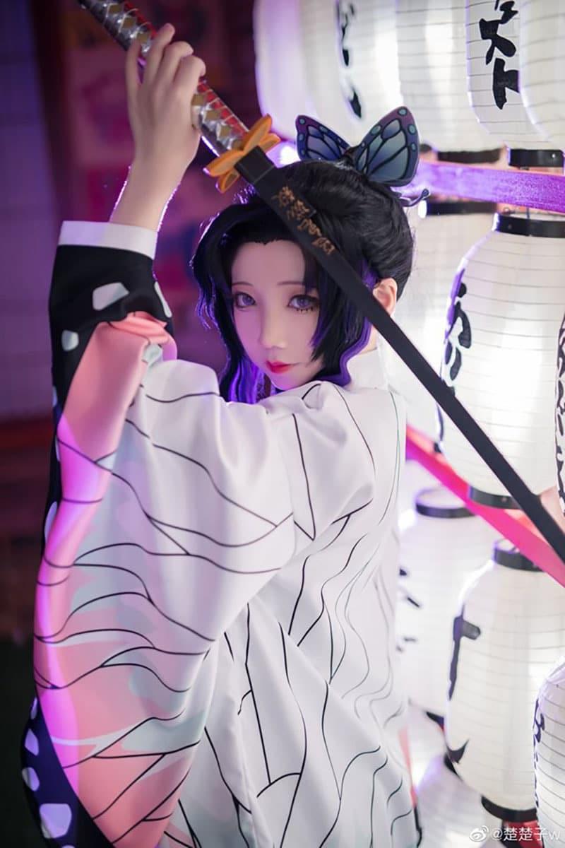 cosplay Kochou Shinobu