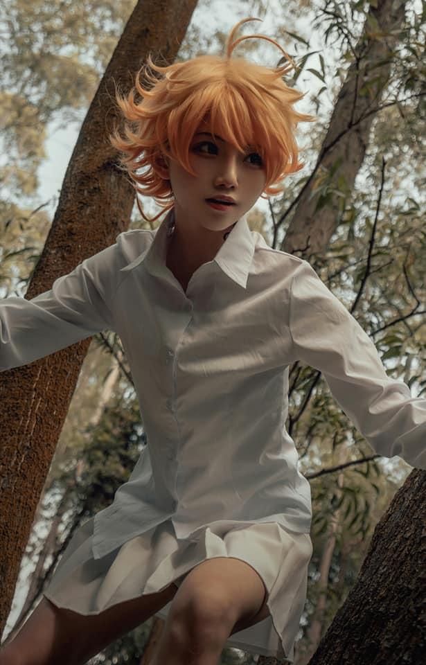 Cùng ngắm nhìn bộ cosplay Emma cực đẹp trong The Promised Neverland
