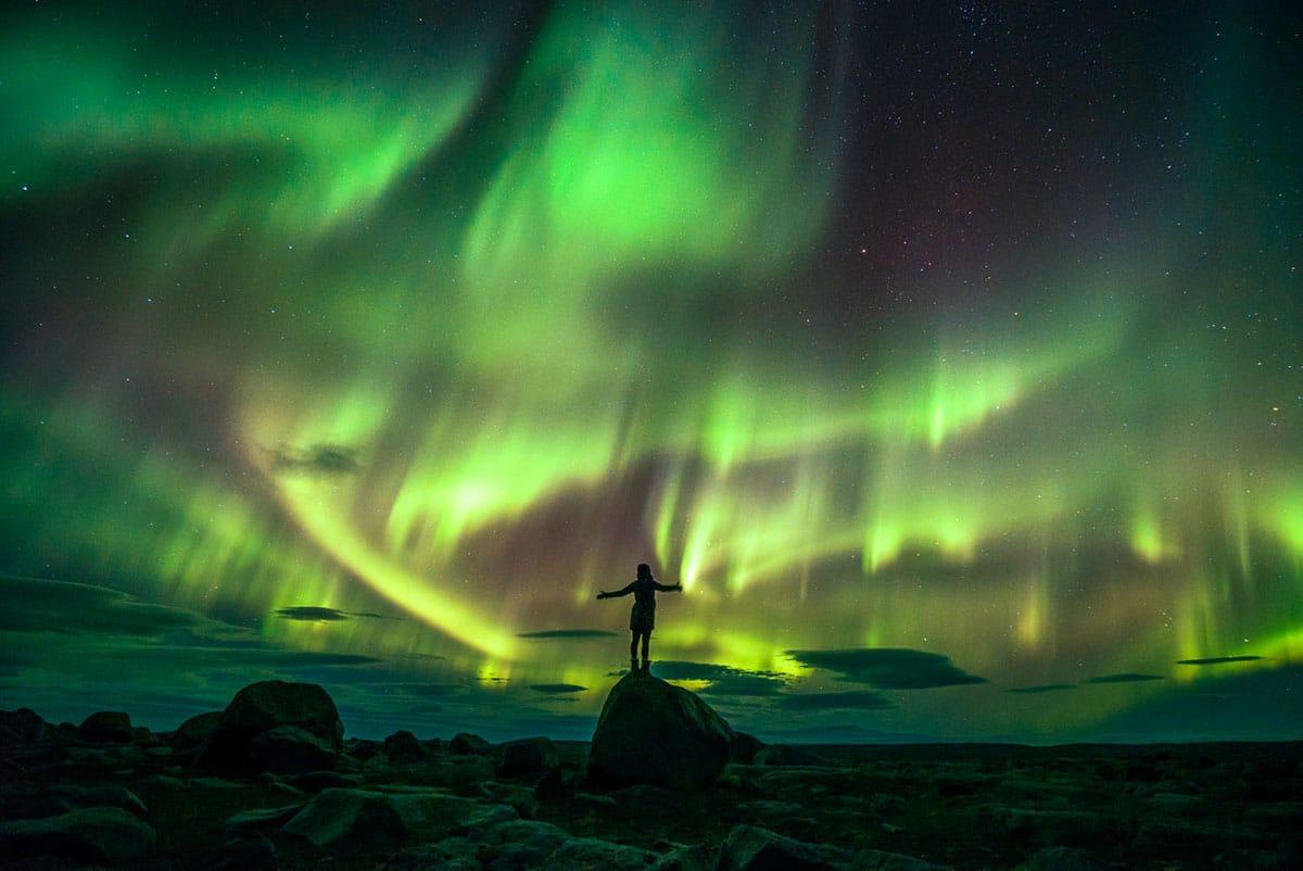 Cực quang - Những dải lụa của bầu trời