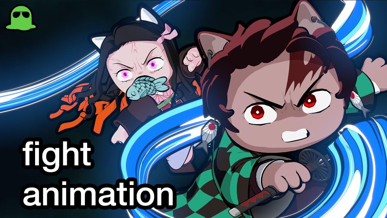 Cùng xem đoạn video Demon Slayer CATS cực dễ thương