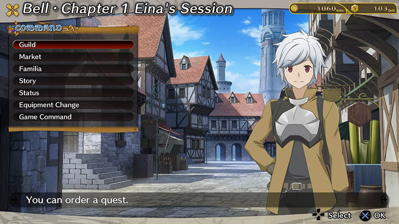 Game Is It Wrong to Try to Pick Up Girls in a Dungeon? Infinite Combate