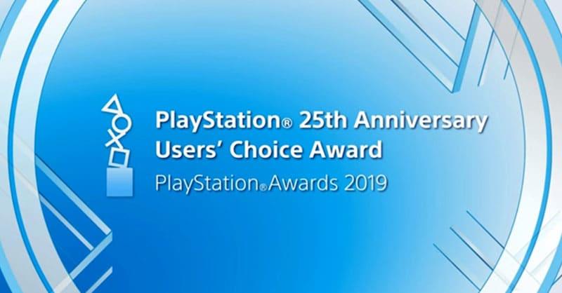 PlayStation 25th Anniversary Users' Choice Award