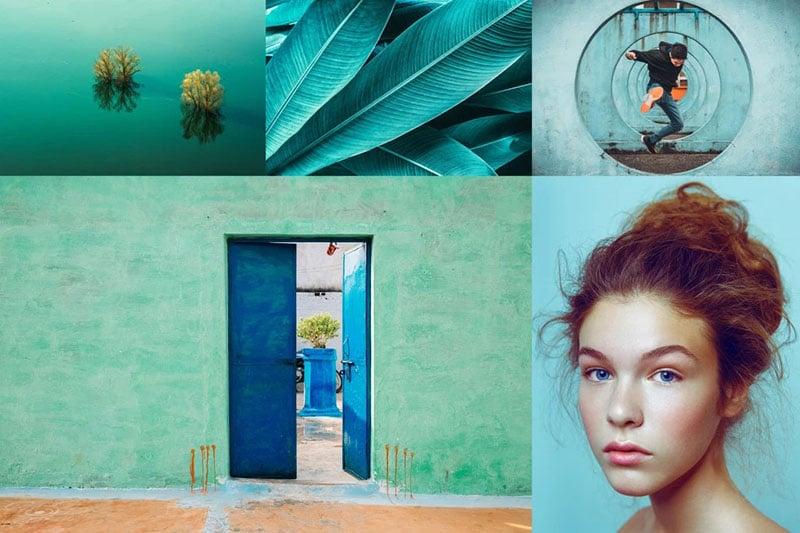 Xu hướng màu sắc 2020 Aqua Menthe