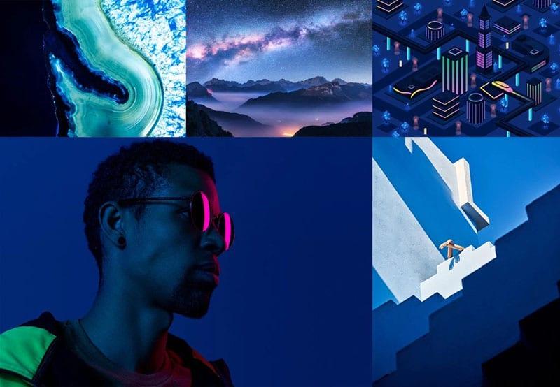 Xu hướng màu sắc 2020: Phantom Blue