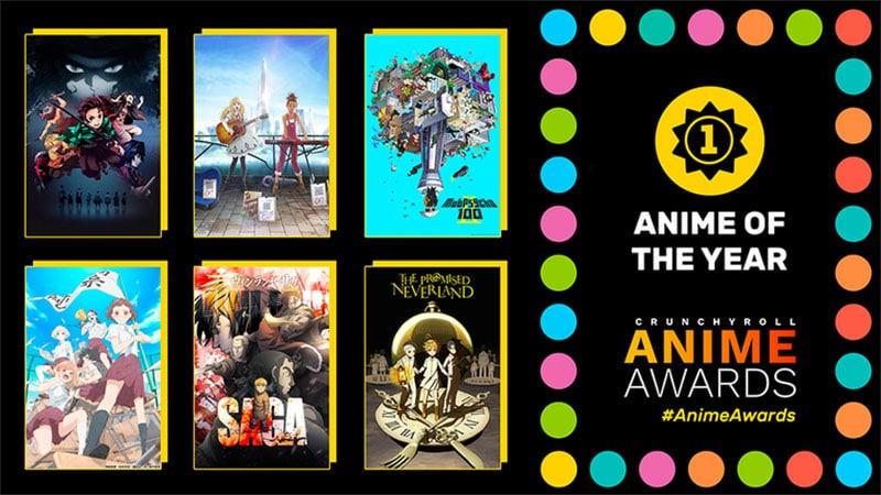 Anime xuất sắc nhất năm (Anime of the Year)