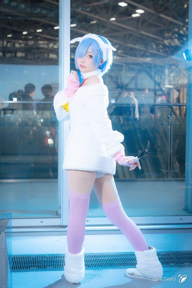 Thưởng thức bộ ảnh cosplay Rem tại sự kiện C97 Winter Comiket