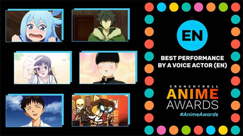 Diễn viên lồng tiếng Anh ấn tượng nhất (Best Performance by a Voice Actor - EN)