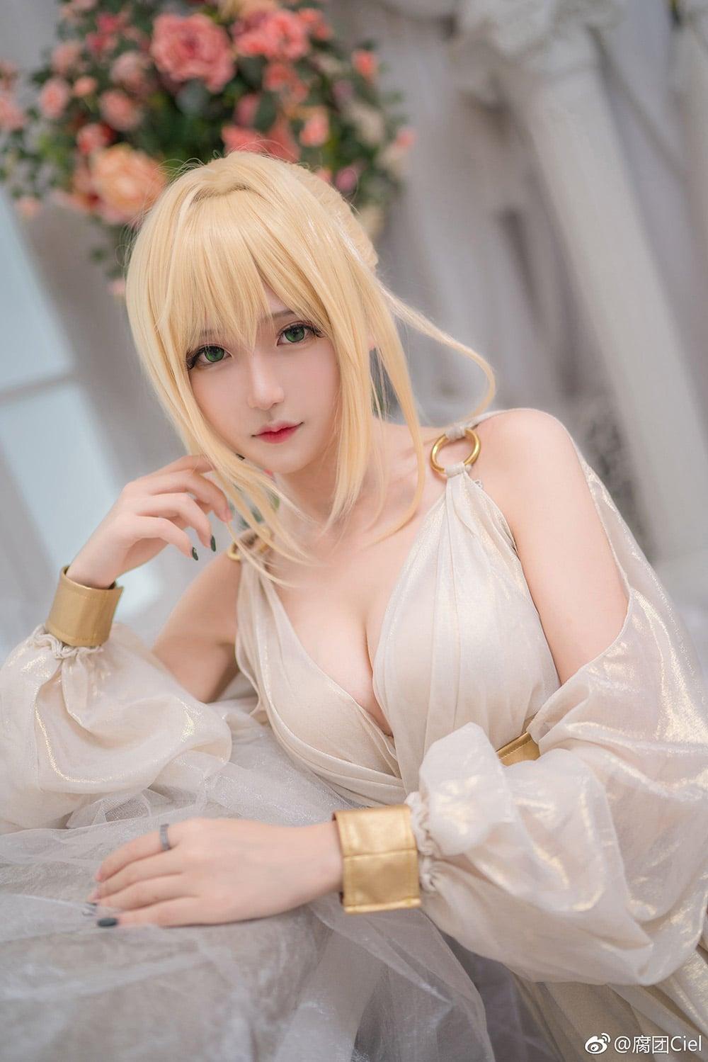 Ngắm nàng saber Nero Claudius cực kỳ kiều diễm trong Fate/Grand Order