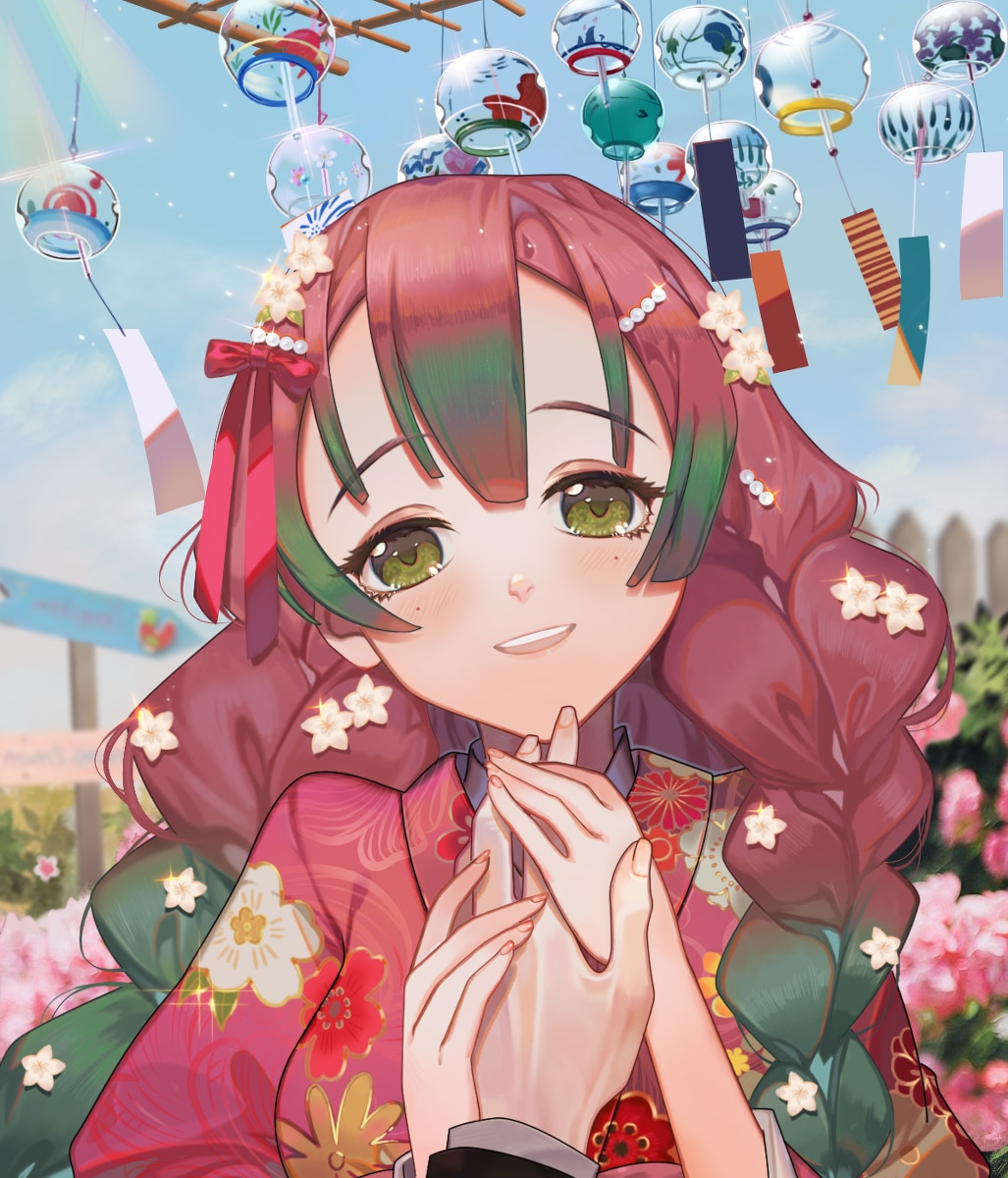 Kimetsu no Yaiba Album Artwork Collection - Artist Peach Luo (猫又汐沁)