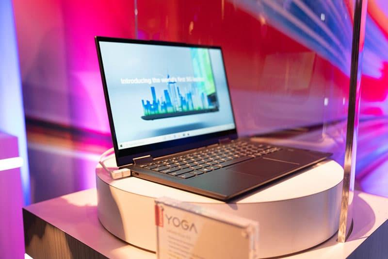 Lenovo Yoga 5G : Laptop 5G đầu tiên trên thế giới