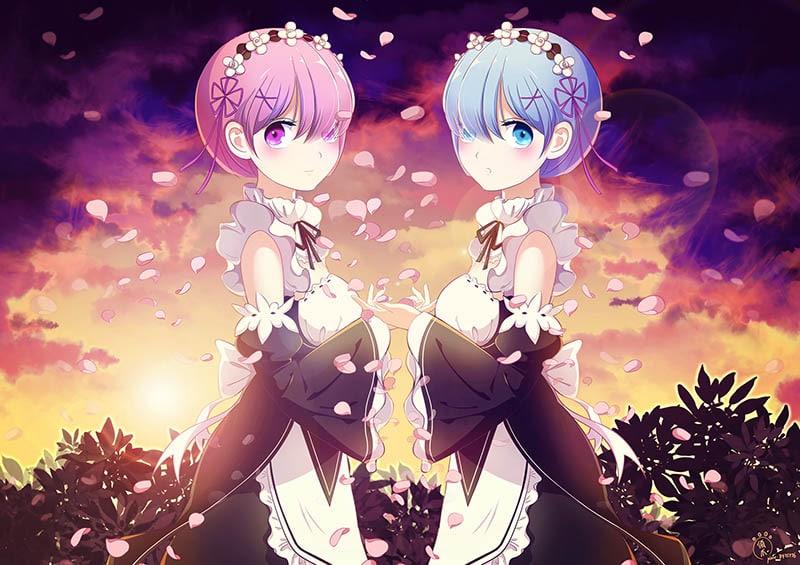 Người Nhật có tin rằng tóc của những nhân vật anime có đủ loại màu sắc