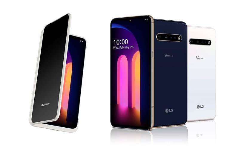 LG chính thức cho ra mắt chiếc V60 ThinQ