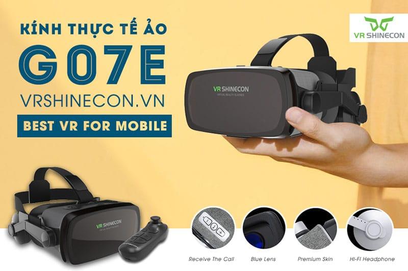 thiết kế VR Shinecon G07E Blue Lens