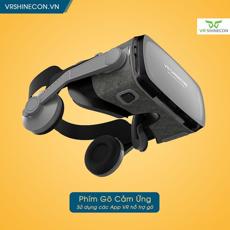 VR Shinecon G07E Blue Lens Hỗ trợ đa dạng kích thước màn hình smartphone