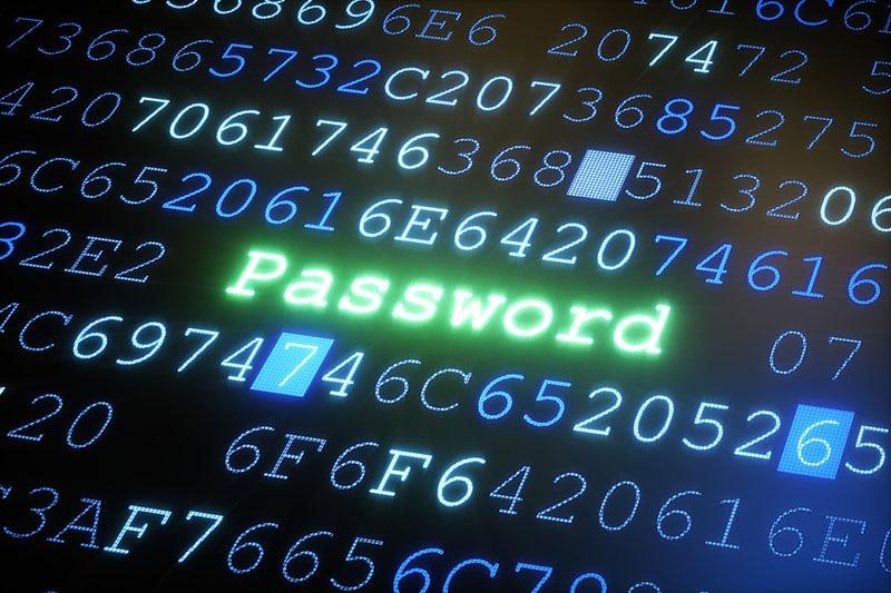 an toàn mật khẩu