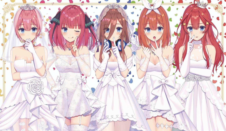 Manga 5 Toubun no Hanayome chính thức kết thúc
