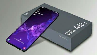 Smartphone Galaxy M31 có thiết kế siêu khủng ở tầm giá trung