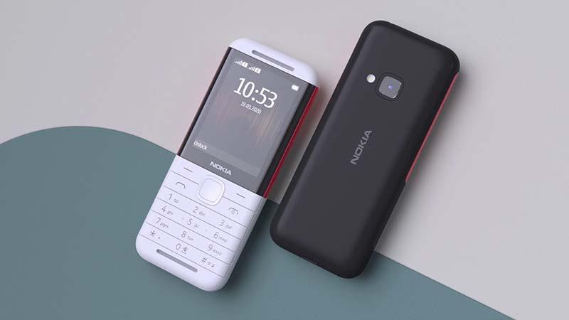 Series thiết bị tầm trung Nokia 5.3, 1.3 và 5310