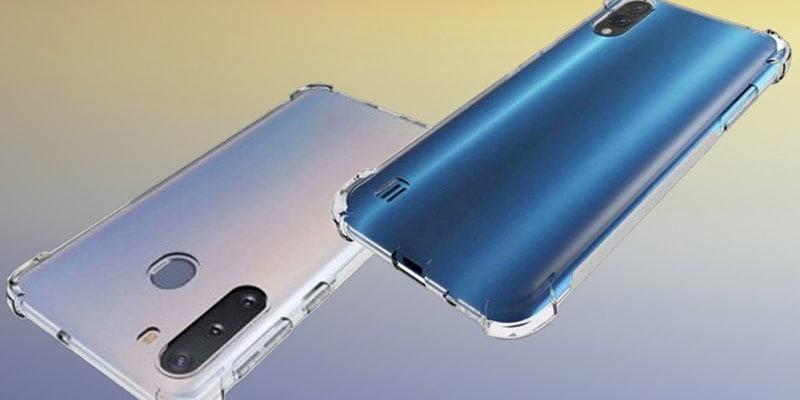 Lộ ảnh render Samsung Galaxy A21: Sở hữu mặt sau ấn