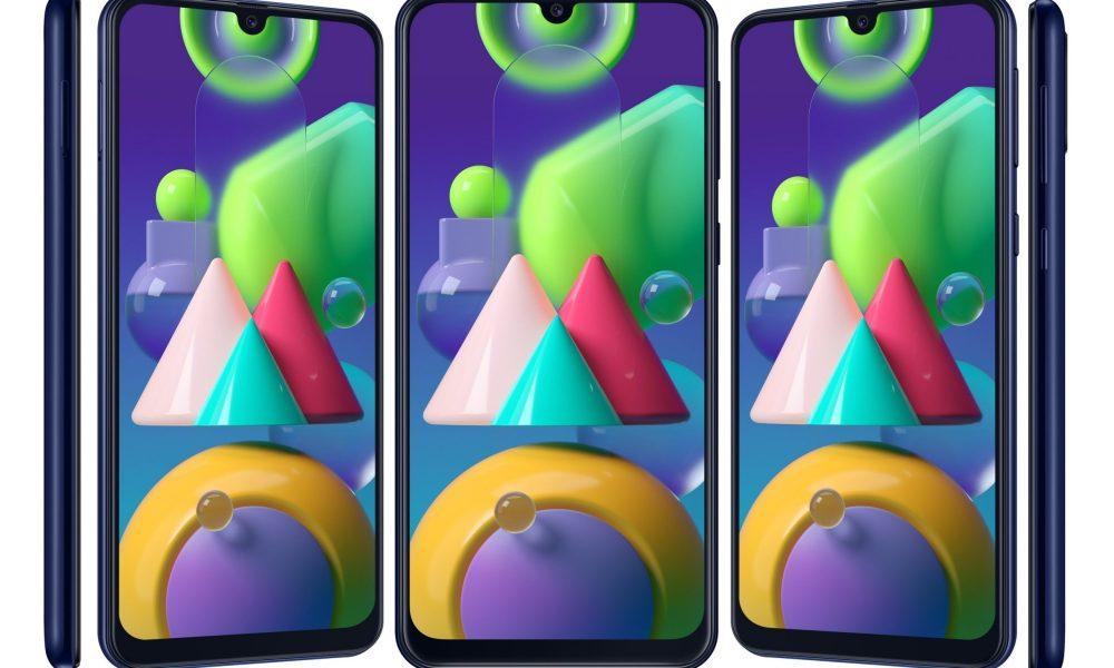 Cùng ngắm nhìn hình ảnh render đẹp mắt của Samsung Galaxy M21