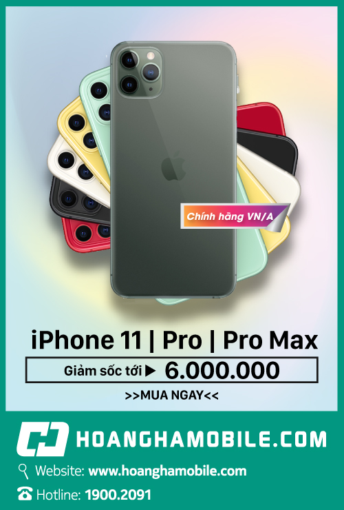 iphone 11 pro/pro max - hoàng hà mobile