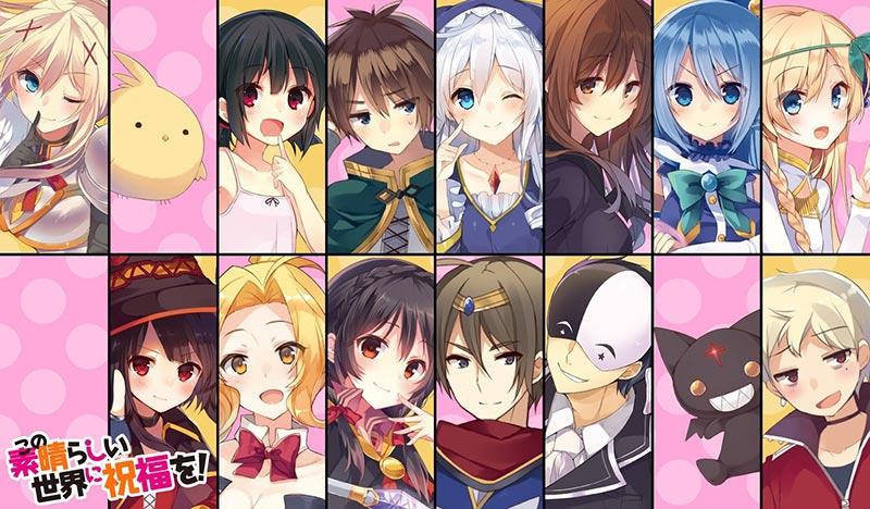 Light-novel Konosuba sẽ kết thúc ở Vol.17 tiếp theo