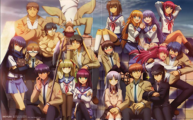 Anime 'Angel Beats!' kỷ niệm 10 năm phát sóng