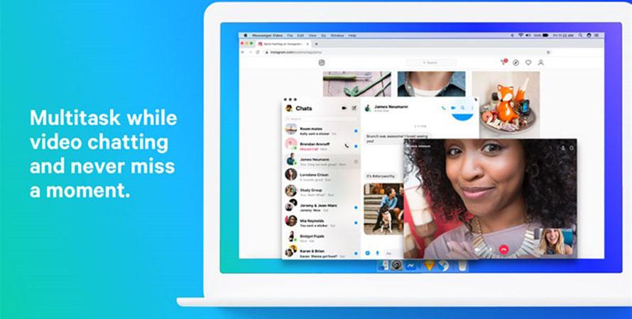Không còn bị bỏ quên Facebook Messenger chính thức ra mắt trên PC và Mac