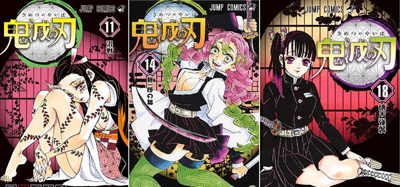 Manga Demon Slayer đứng thứ 2 trên bảng xếp hạng Bookscan tại Mỹ