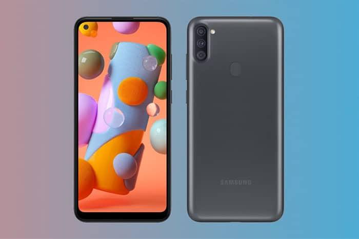 Smartphone giá rẻ Samsung Galaxy A11 chính thức ra mắt