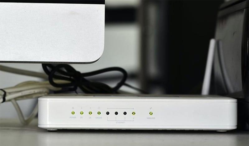 Laptop không bắt dược wifi do modem, Router bị lỗi