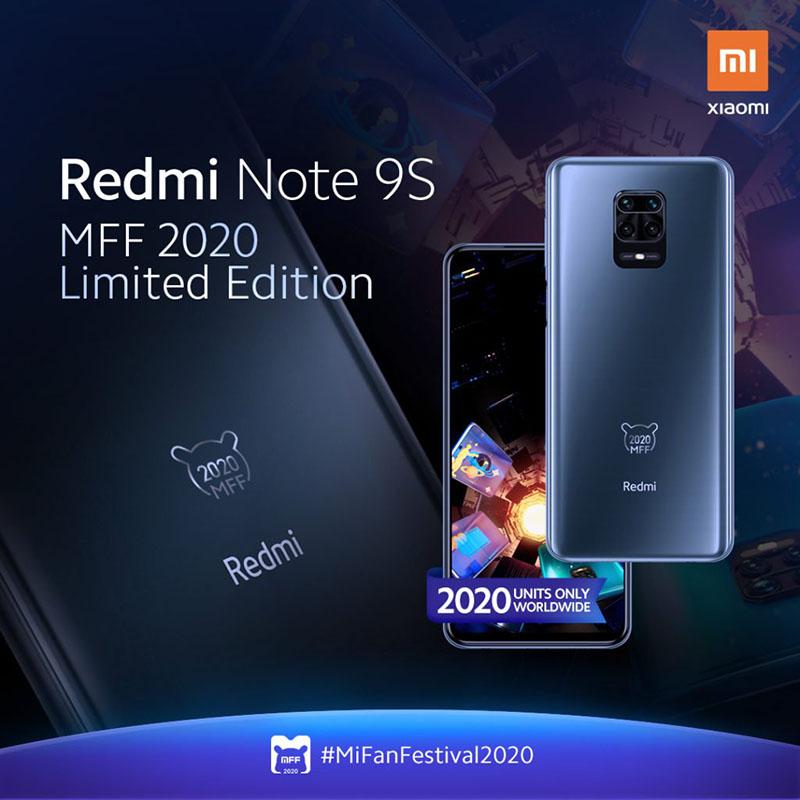 Mi Fan hãy săn lùng ngay Redmi Note 9S phiên bản giới hạn chỉ 2020 chiếc