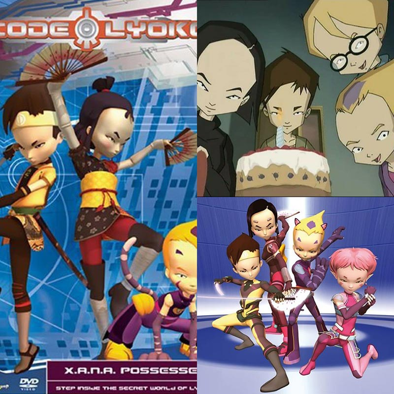 Code Lyoko (Mật mã Lyoko) (2003 - 2007)