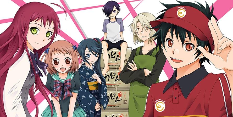 Light Novel Hataraku Maou-Sama! sẽ kết thúc ở tập thứ 21
