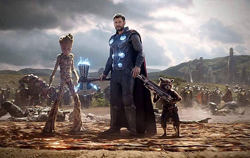 Avenger: Infinity War (2018)